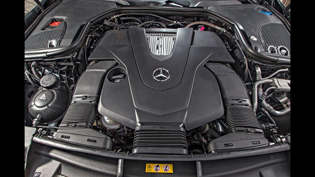 Mercedes E 400 4Matic, Motor