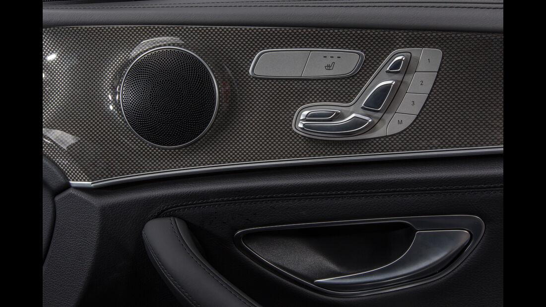 Mercedes E 400 4Matic, Sitzverstellung