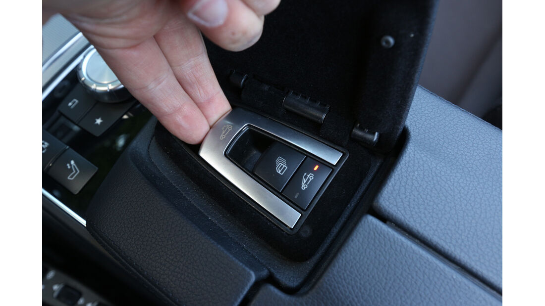 Mercedes E 400 Cabrio, Bedienelemente