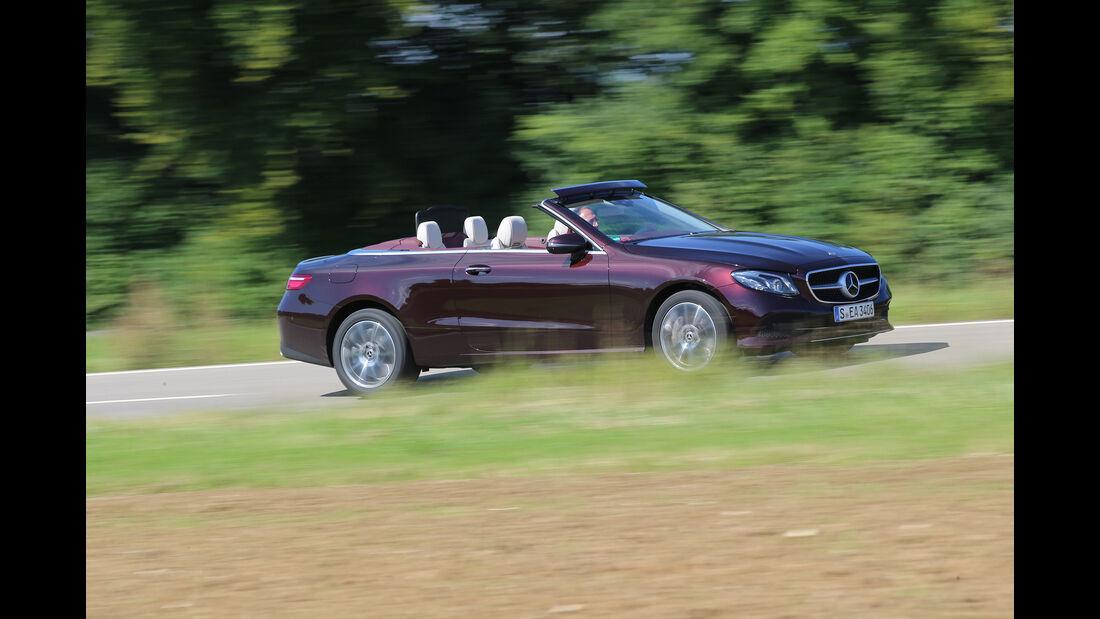 Mercedes, E 400 Cabrio, Exterieur, Seite