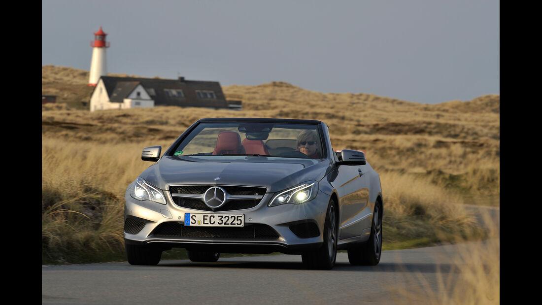 Mercedes E 400 Cabrio, Frontansicht