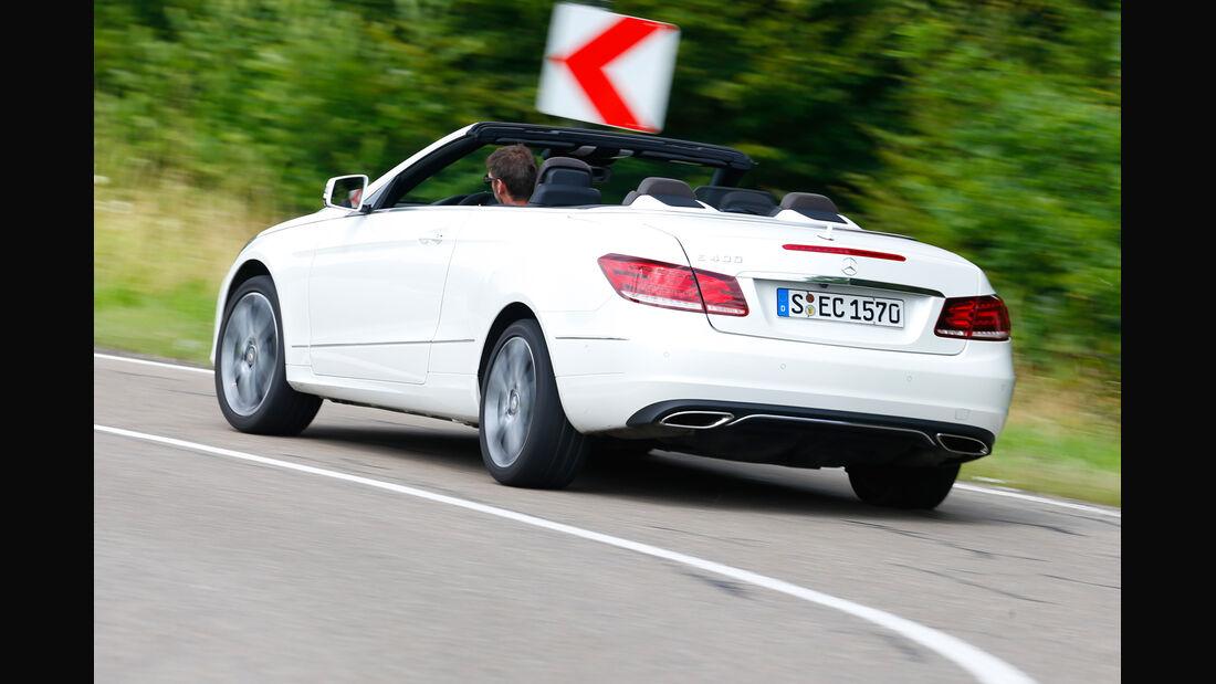 Mercedes E 400 Cabrio, Heckansicht