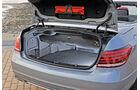 Mercedes E 400 Cabrio, Kofferraum