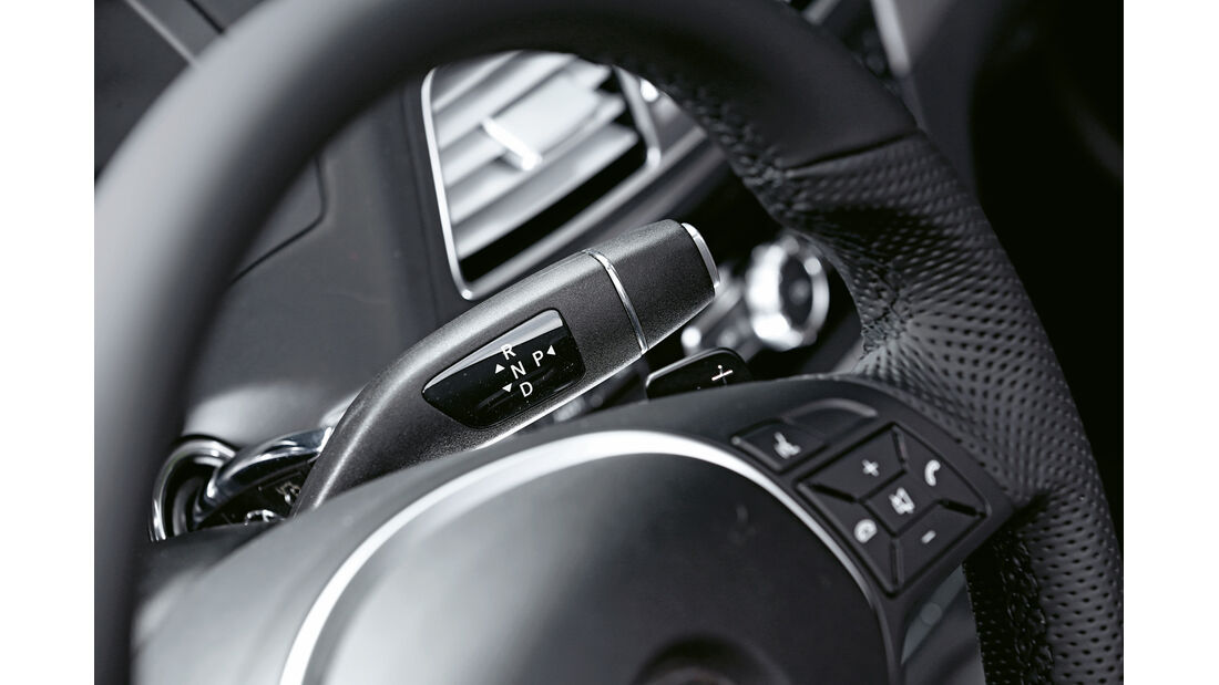 Mercedes E 400 Cabrio, Lenkradschalter