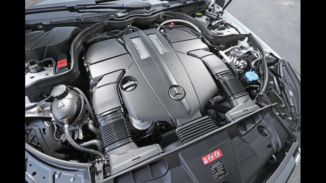 Mercedes E 400 Cabrio, Motor