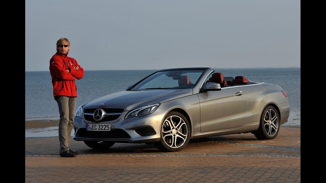 Mercedes E 400 Cabrio, Seitenansicht, Marcus Peters
