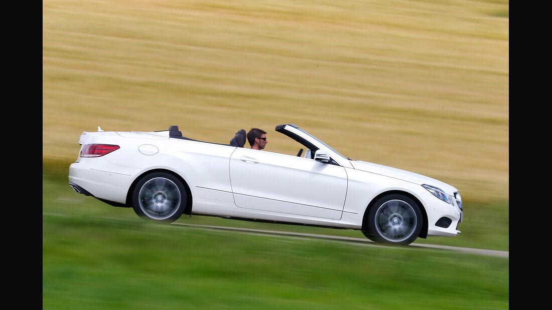 Mercedes E 400 Cabrio, Seitenansicht