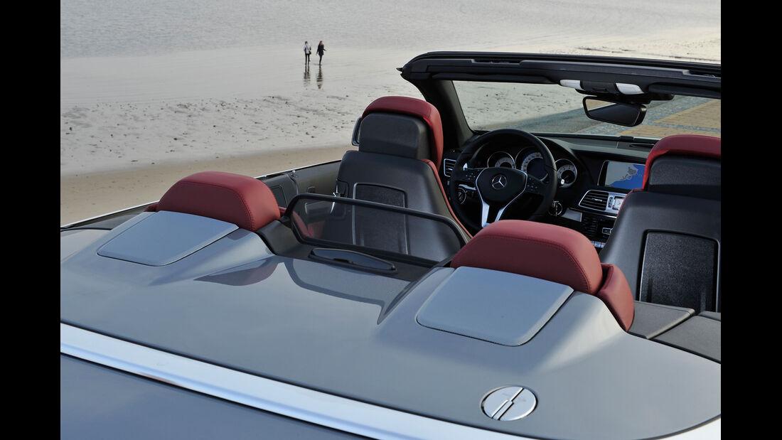 Mercedes E 400 Cabrio, Sitze