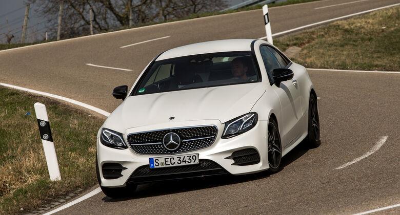 Mercedes E 400 Coupé, Frontansicht