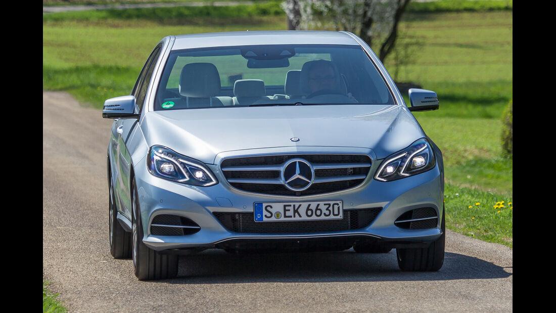 Mercedes E 400, Frontansicht