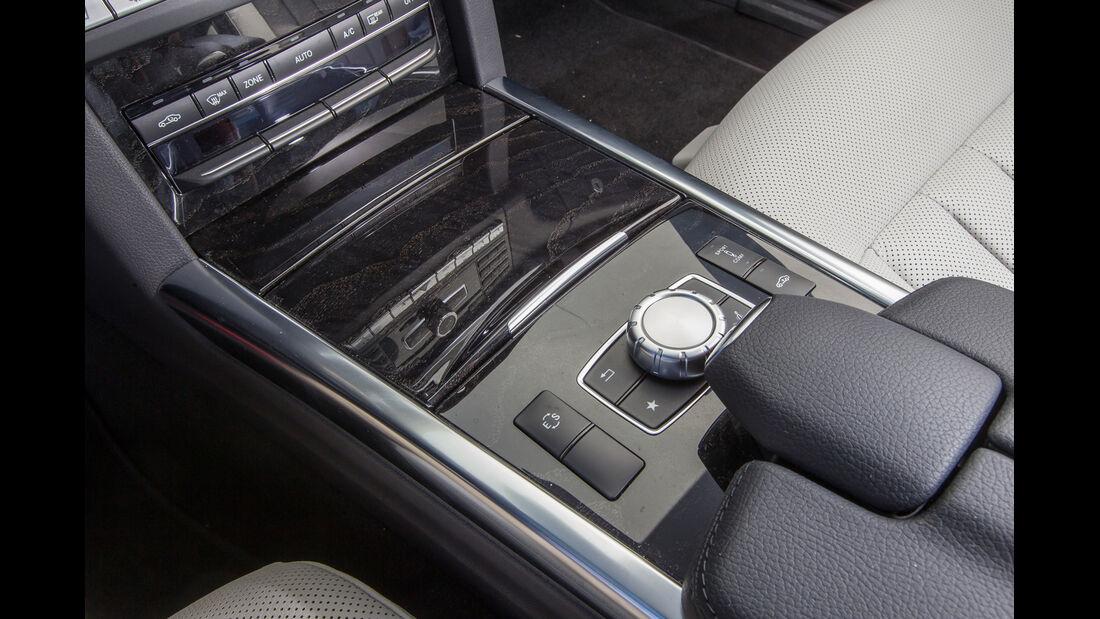 Mercedes E 400, Gangschaltung