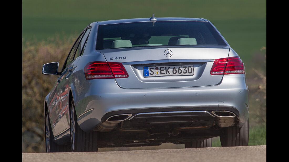 Mercedes E 400, Heckansicht