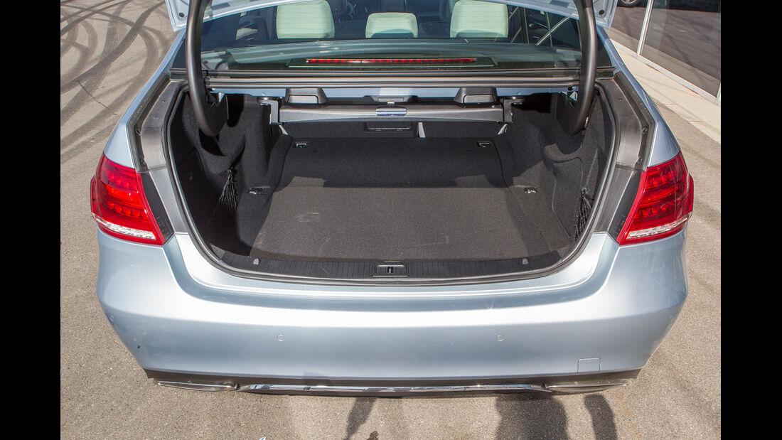 Mercedes E 400, Kofferraum
