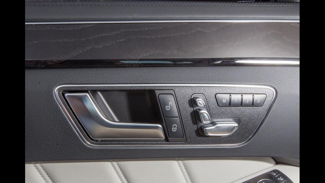 Mercedes E 400, Sitzverstellung