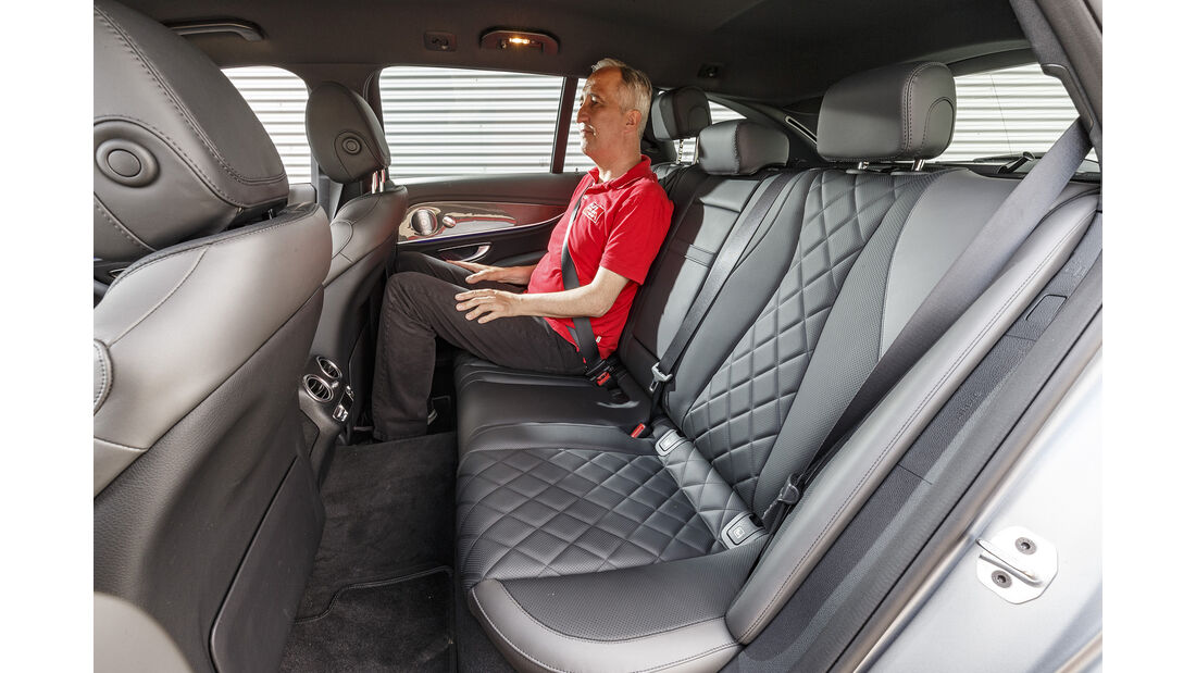 Mercedes E 400 d T, Interieur
