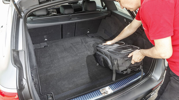 Mercedes E 400 d T, Kofferraum