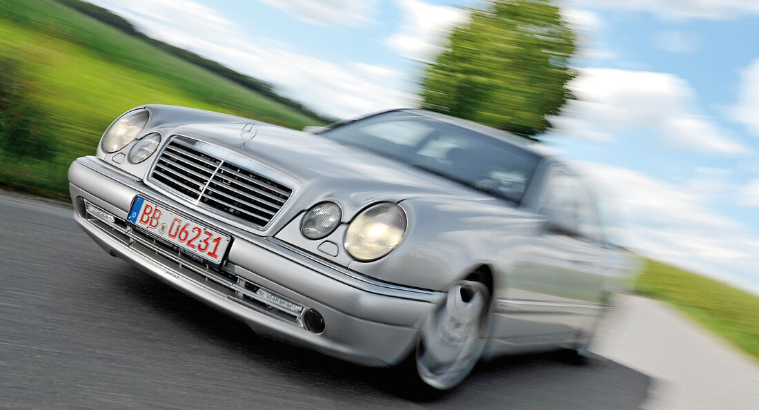 Mercedes E 50 AMG, Frontansicht