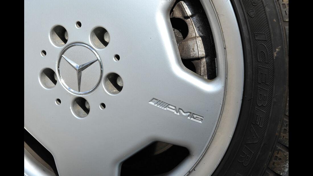 Mercedes E 50 AMG, Radkappe
