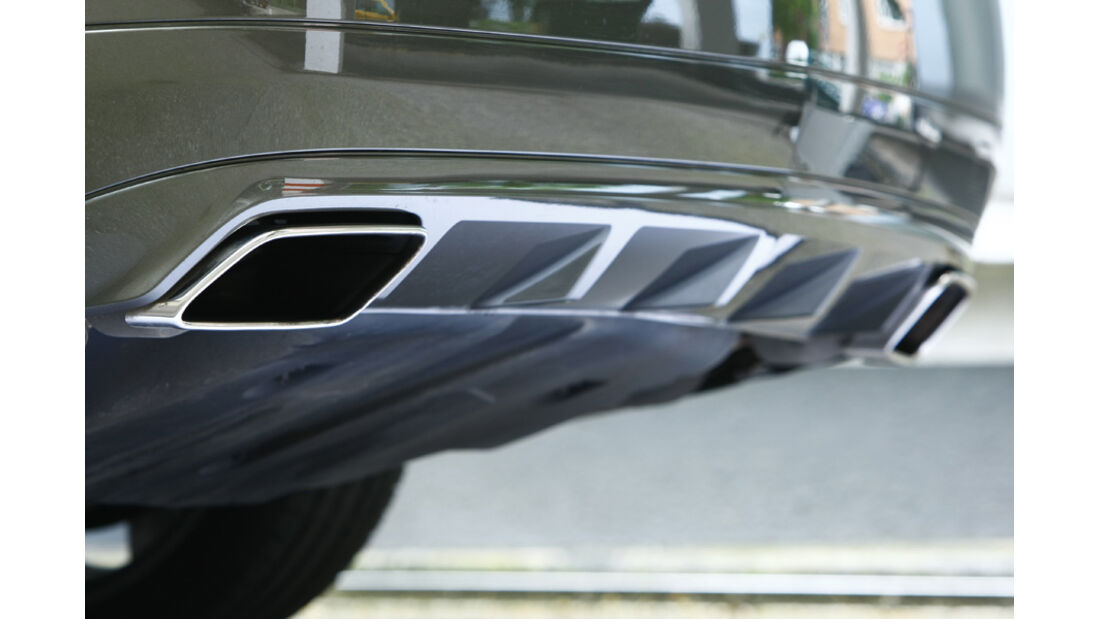 Mercedes E 500 Cabriolet Auspuff