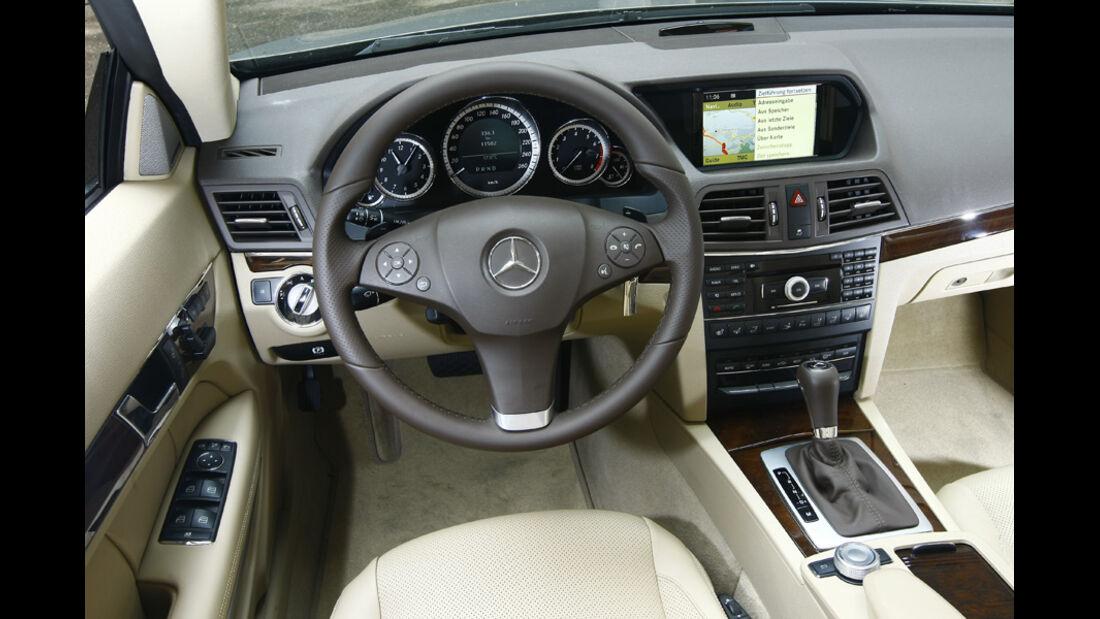 Mercedes E 500 Cabriolet Cockpit