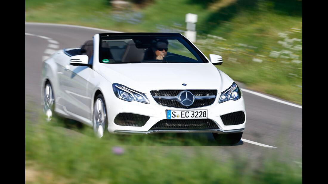 Mercedes E 500 Cabriolet, Frontansicht