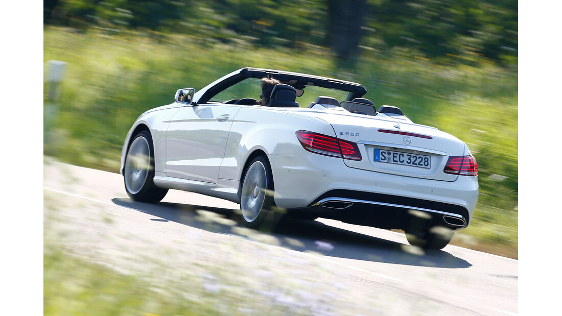 Mercedes E 500 Cabriolet, Heckansicht