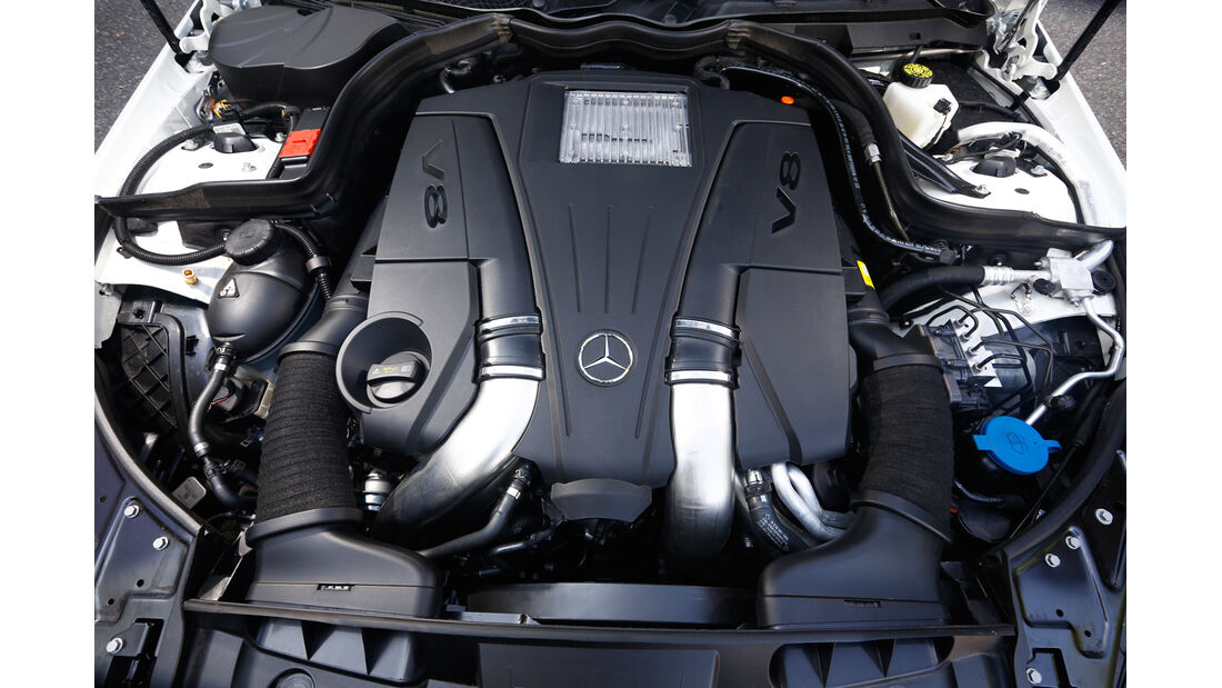 Mercedes E 500 Cabriolet, Motor