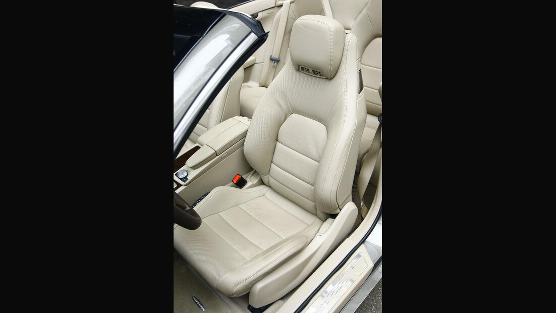 Mercedes E 500 Cabriolet Sitz