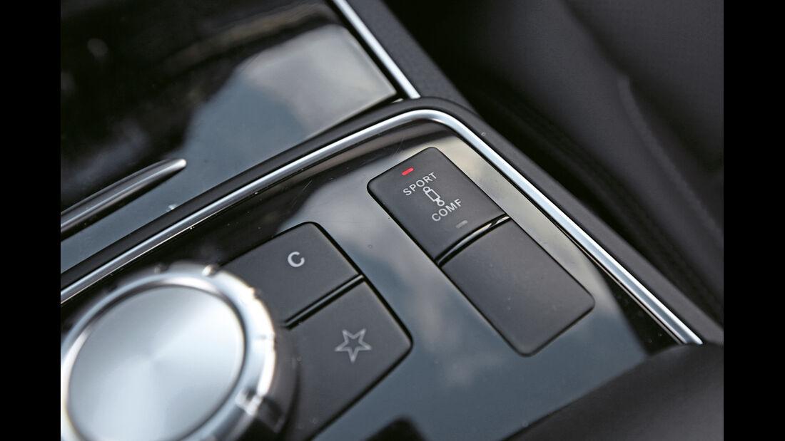 Mercedes E 500 Coupé, Bedienelemente