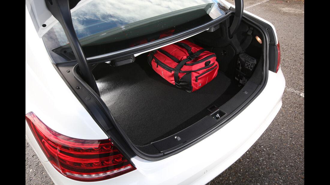 Mercedes E 500 Coupé, Kofferraum