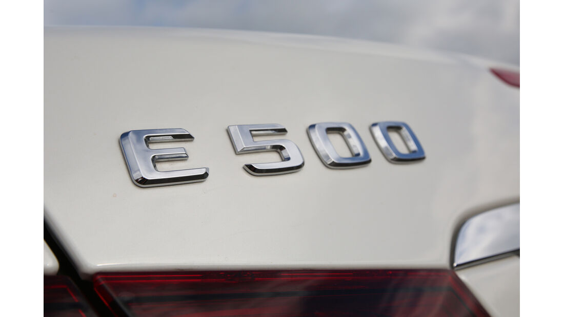 Mercedes E 500 Coupé, Typenbezeichnung