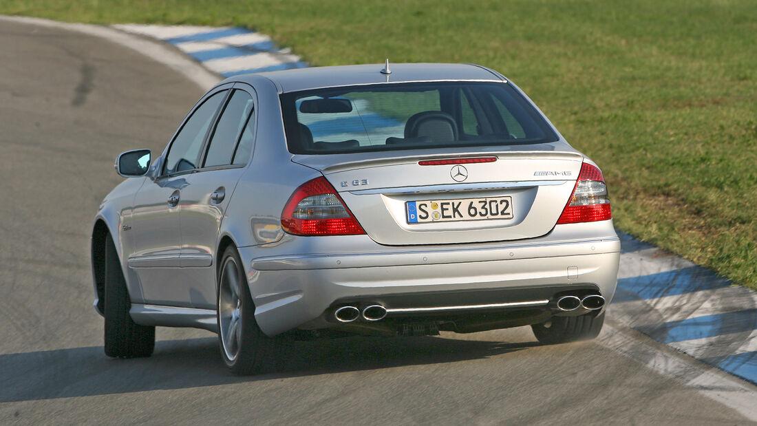 Mercedes E 63 AMG, Exterieur