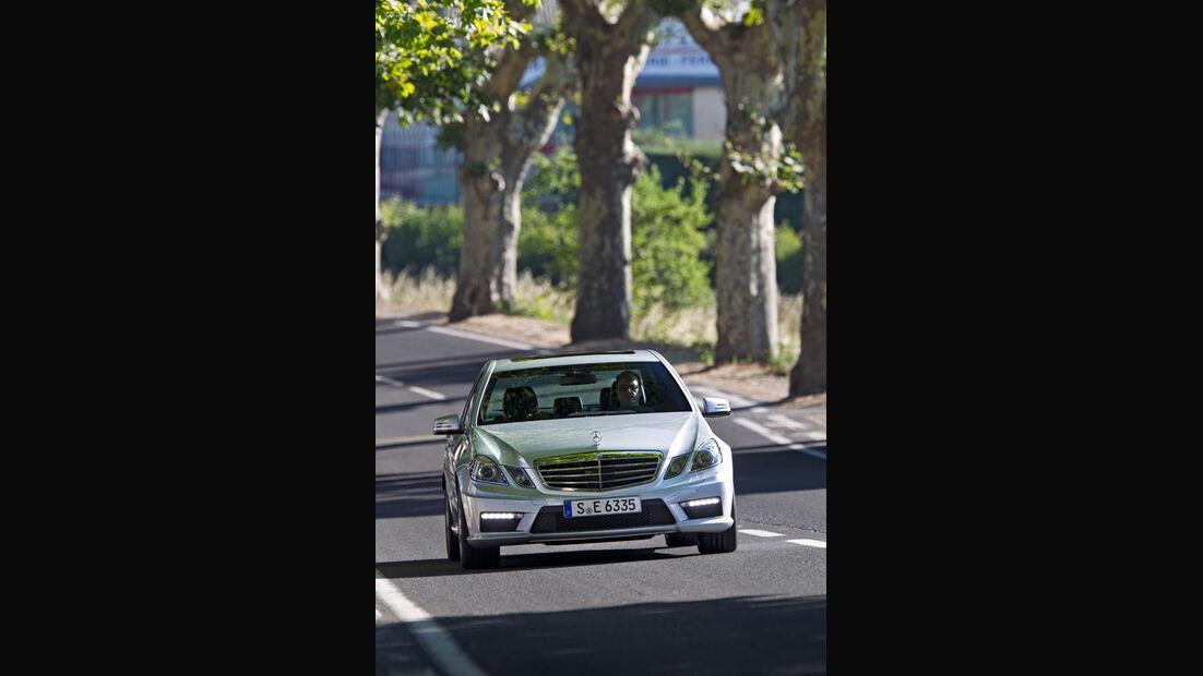 Mercedes E 63 AMG, Frontansicht
