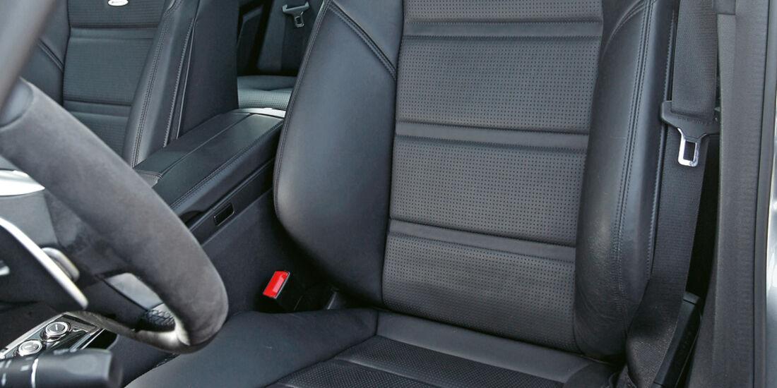 Mercedes E 63 AMG, Ledersitz, Fahrersitz
