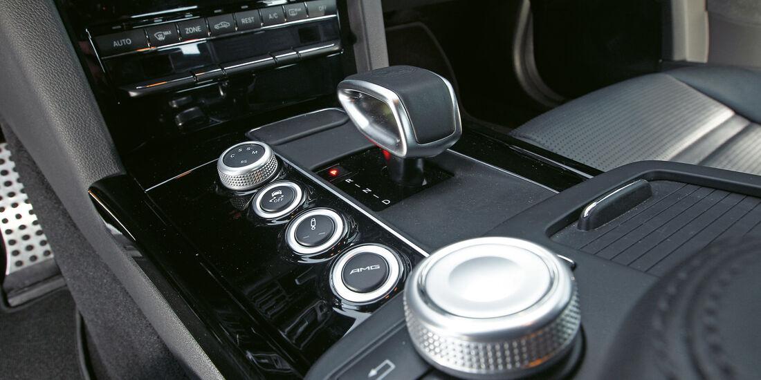 Mercedes E 63 AMG, Mittelkonsole