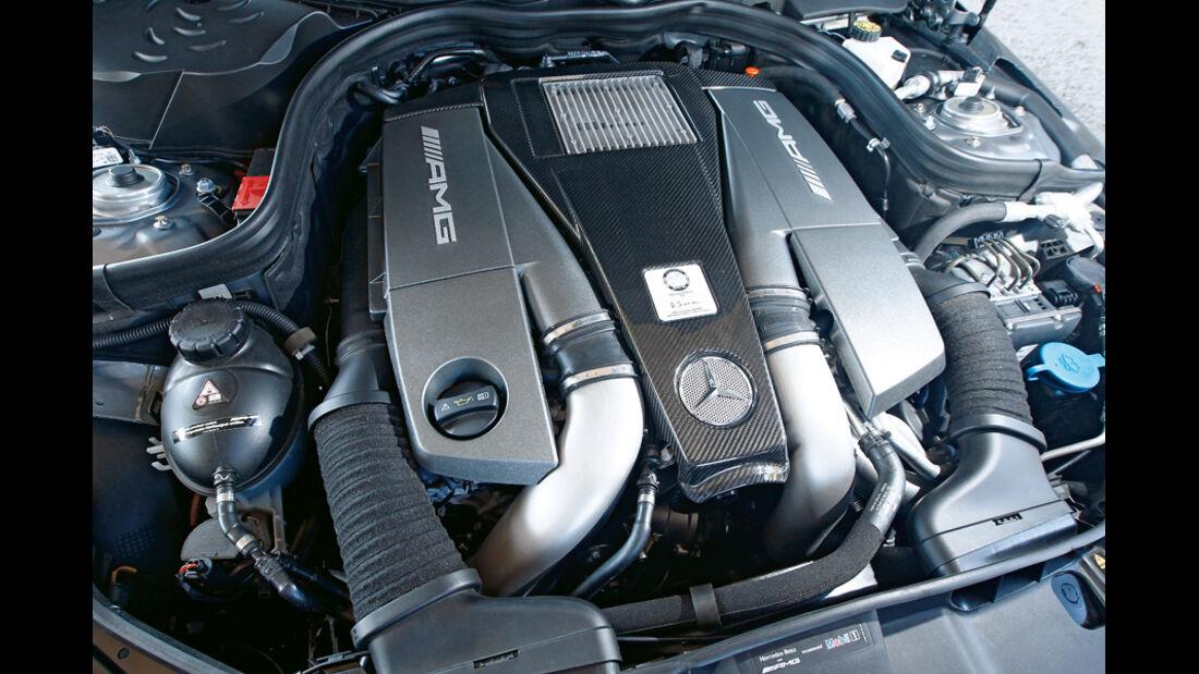 Mercedes E 63 AMG, Motor