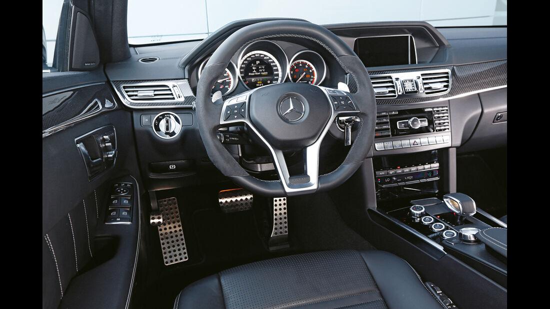 Mercedes E 63 AMG S 4matic, Cockpit