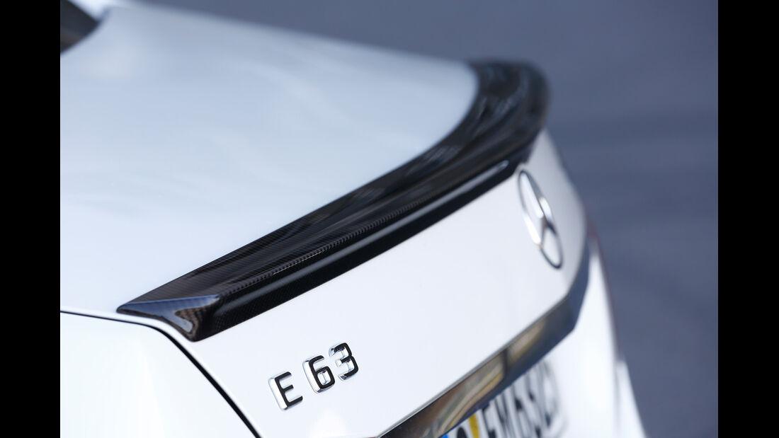 Mercedes E 63 AMG S 4matic, Heckschürze