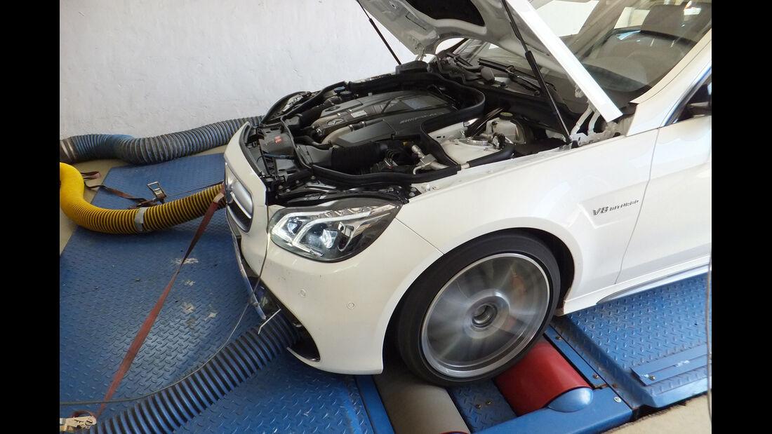 Mercedes E 63 AMG S 4matic, Leistungsmessung