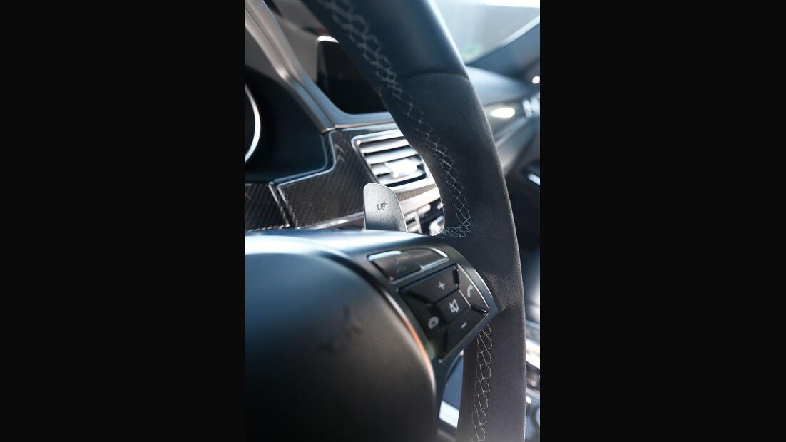 Mercedes E 63 AMG S 4matic, Lenkradschalter