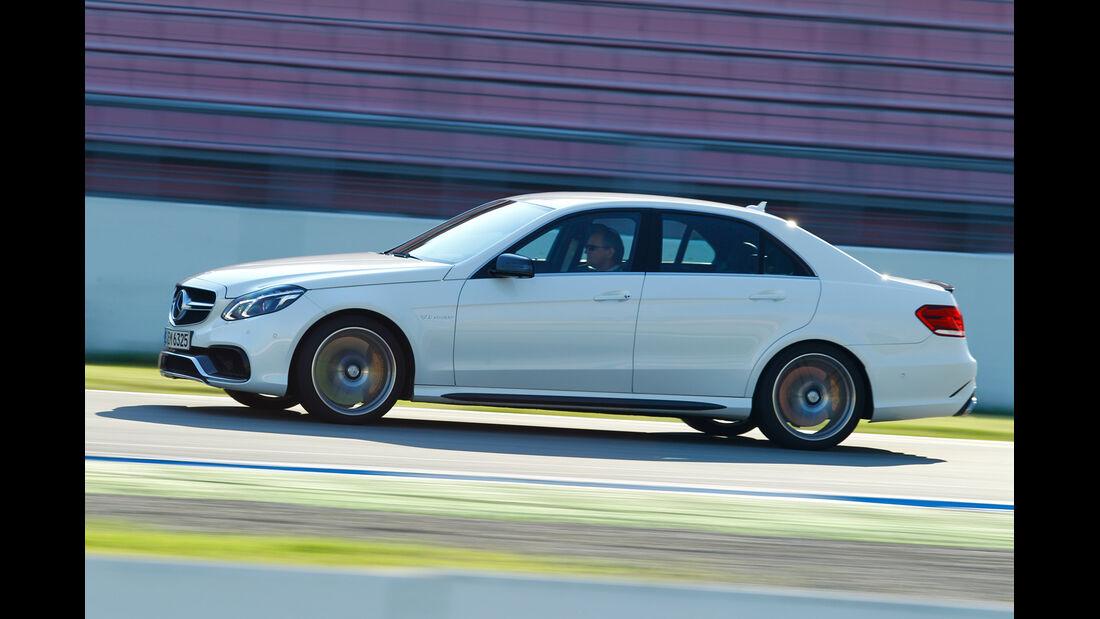 Mercedes E 63 AMG S 4matic, Seitenansicht
