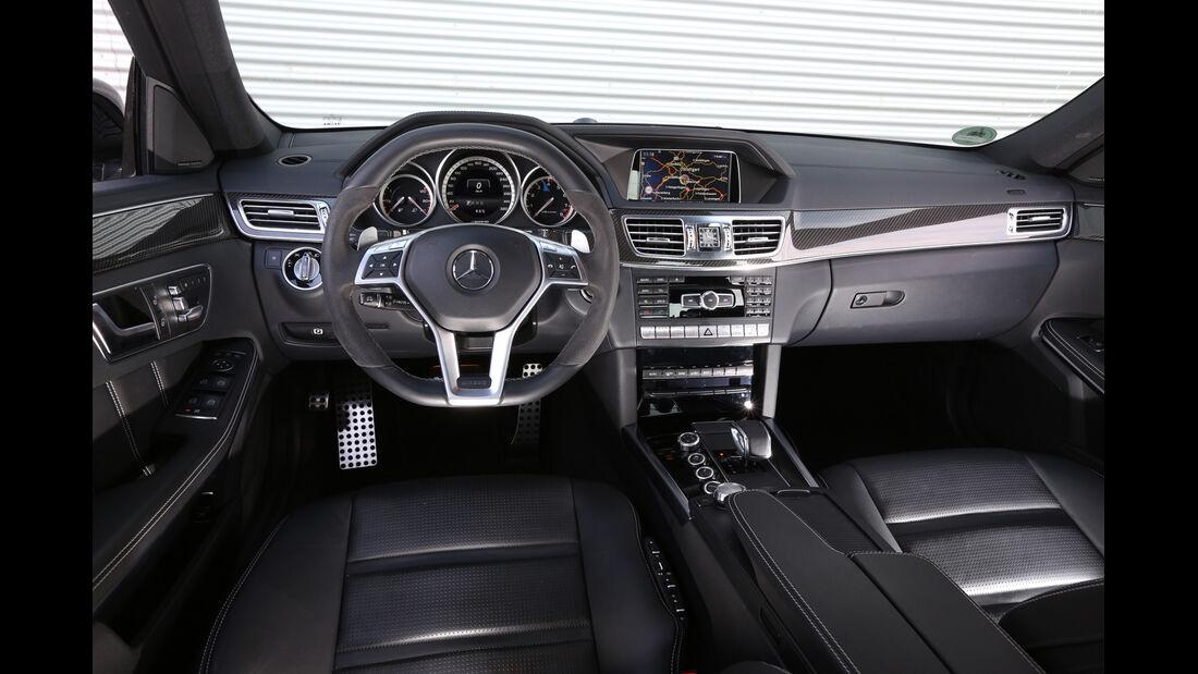Mercedes E 63 AMG S, Cockpit