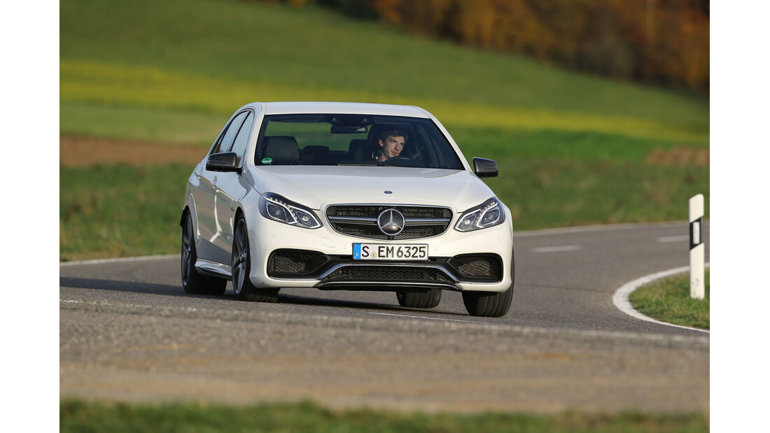 Mercedes E 63 AMG S, Frontansicht