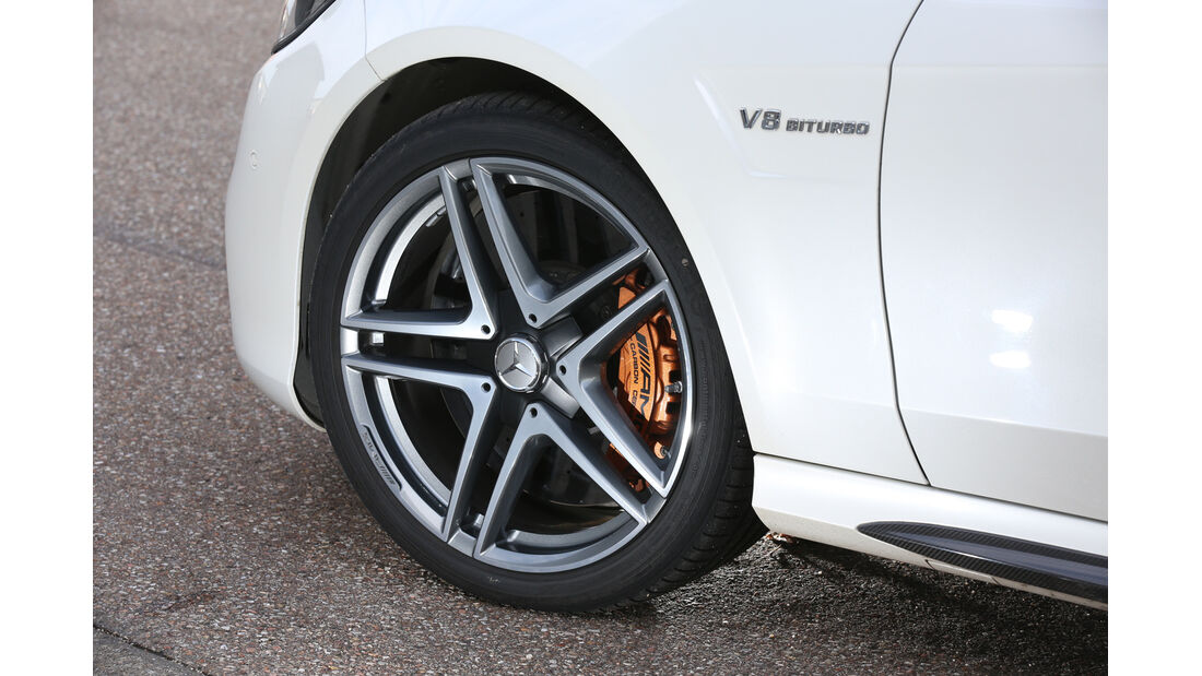 Mercedes E 63 AMG S, Rad, Felge, Bremse
