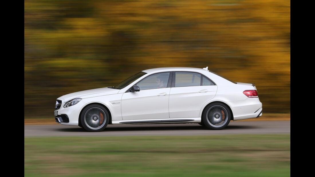 Mercedes E 63 AMG S, Seitenansicht