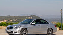 Mercedes E 63 AMG, Seitenansicht
