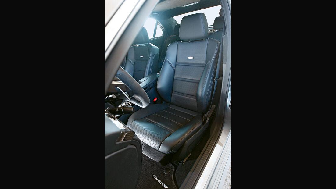 Mercedes E 63 AMG, Sitze