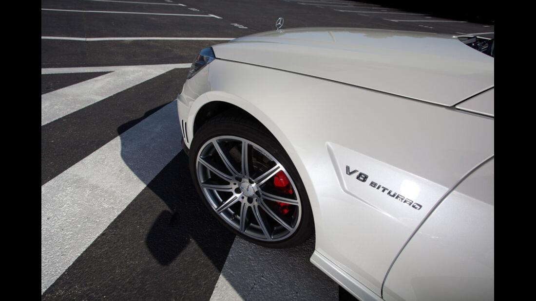 Mercedes E 63 AMG, Vorderrad, Felge