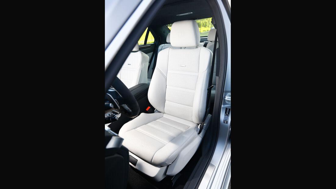 Mercedes E 63 S AMG, Fahrersitz