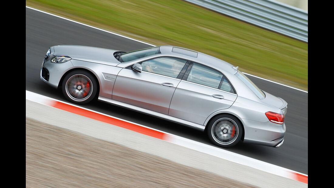 Mercedes E 63 S AMG, Seitenansicht